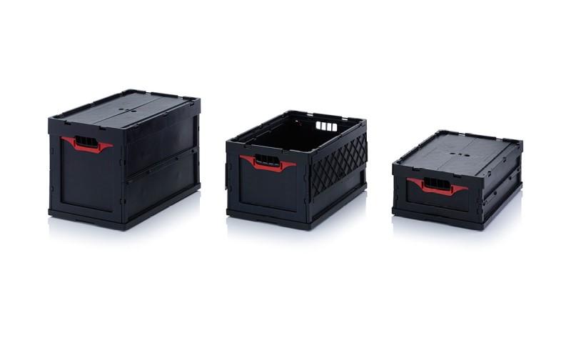 Пластмасови сгъваеми контейнери ESD