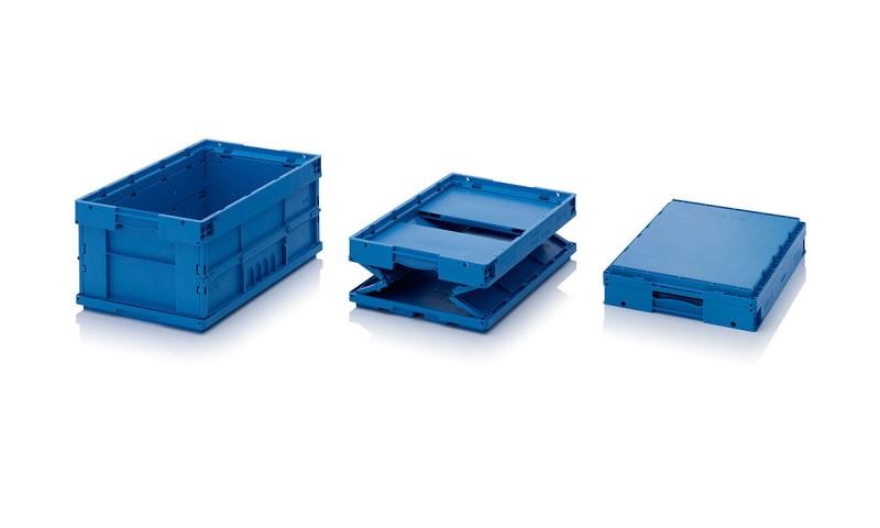 Пластмасови контейнери сгъваеми KLT